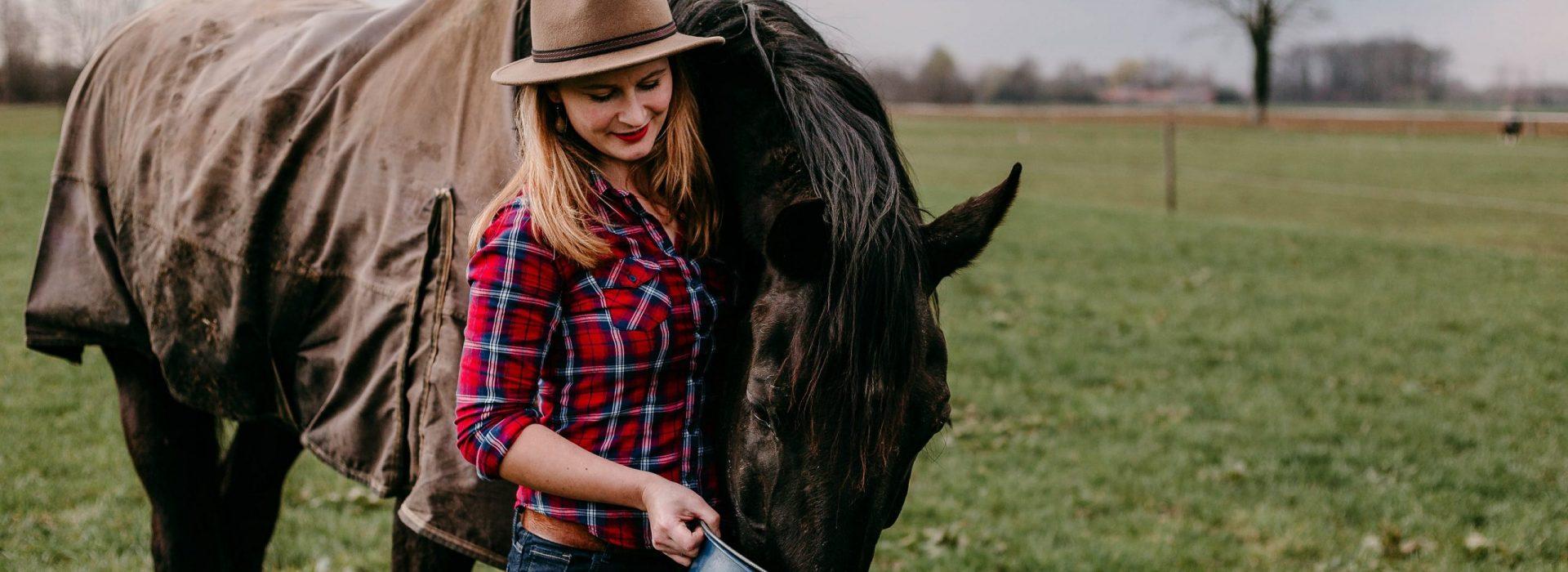 Paardrijden is ont-spannend